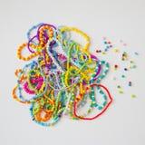 Красочные шарики и bangles стоковые изображения rf