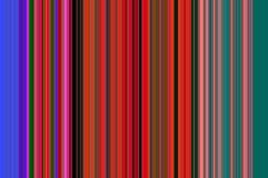 Красочные яркие линии в красных, розовых и голубых оттенках, предпосылке Стоковые Изображения