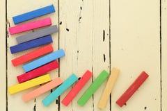 Красочные crayons Стоковое Изображение RF