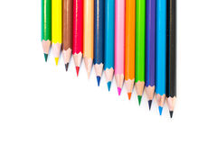Красочные crayons Стоковое фото RF