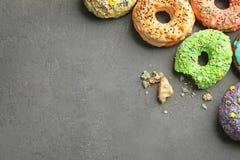 Красочные donuts с брызгают Стоковое Изображение