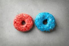 Красочные donuts с брызгают Стоковые Изображения