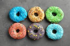 Красочные donuts с брызгают Стоковое Изображение RF