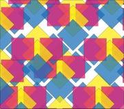 Красочные rhombs текстуры стоковое изображение