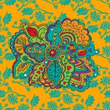 Красочный абстрактный безшовный вектор картины Стоковые Изображения RF
