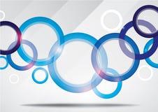 Красочный абстрактный дизайн брошюры Стоковые Изображения RF