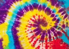 Красочный абстрактный желтый цвет дизайна картины краски связи, фиолетовый красный цвет Стоковая Фотография RF
