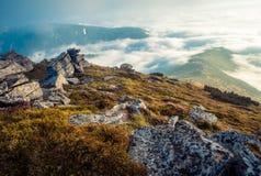 Красочный ландшафт в горах, перемещение Америки, мир красоты Стоковое фото RF
