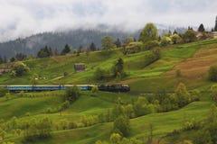 Красочный ландшафт в горах, перемещение Америки, мир красоты Стоковая Фотография RF