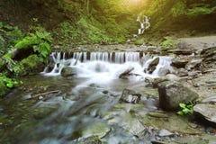 Красочный ландшафт в горах, перемещение Америки, мир красоты Стоковые Фотографии RF