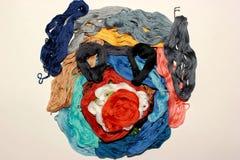 Красочный ландшафт сделанный вручную Стоковая Фотография RF