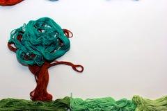 Красочный ландшафт сделанный вручную Стоковое фото RF