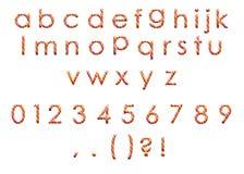 Красочный алфавит Стоковая Фотография