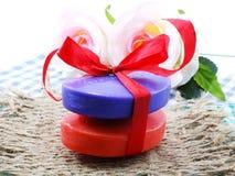 Красочный бара мыла Стоковое Изображение