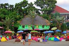 Красочный бар пляжа Стоковые Фото