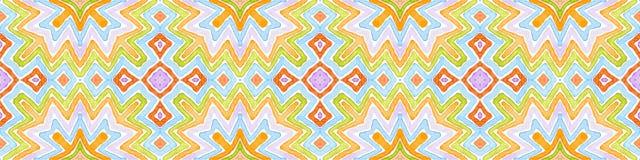 Красочный безшовный перечень границы r бесплатная иллюстрация