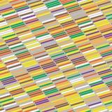 Красочный вектор кирпича Стоковая Фотография