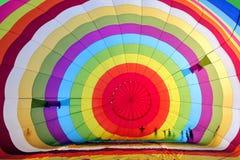 Красочный воздушный шар внутрь Стоковая Фотография