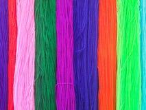 Красочный вязать Стоковые Фото