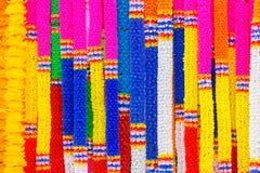 Красочный гирлянды стоковые изображения rf