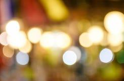 Красочный график bokeh света ночи Стоковое фото RF