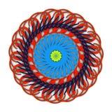 Красочный графический орнамент Стоковые Фотографии RF