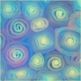 Красочный декоративный дизайн линий и спиралей иллюстрация вектора