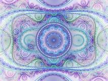Красочный детальный clockwork фрактали Стоковые Фотографии RF