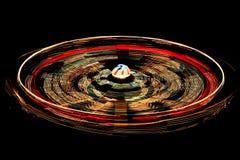 Красочный закручивать carousel Стоковое фото RF