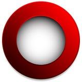 Красочный значок круга, кнопка, штырь, элемент ярлыка Пустой, пустой Стоковые Изображения