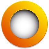 Красочный значок круга, кнопка, штырь, элемент ярлыка Пустой, пустой Стоковое Фото