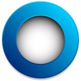 Красочный значок круга, кнопка, штырь, элемент ярлыка Пустой, пустой Стоковые Фото