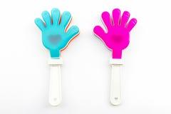Красочный игрушки хлопа руки, пластичных рук игрушки Стоковая Фотография