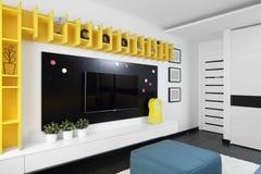 Красочный интерьер комнаты детей Стоковое Изображение
