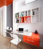 Красочный интерьер комнаты детей Стоковая Фотография RF