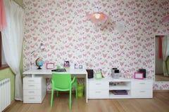 Красочный интерьер комнаты детей Стоковые Фотографии RF