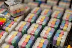Красочный карандаш на магазине Стоковое Фото