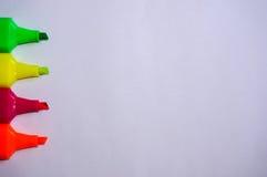 Красочный карандаша цвета Стоковое Изображение RF
