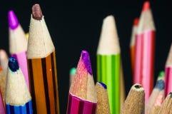 Красочный карандаша цвета Стоковые Фото