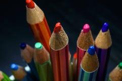 Красочный карандаша цвета Стоковая Фотография RF