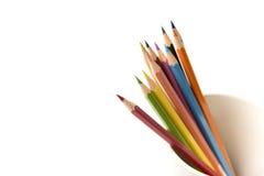Красочный карандаш в кружке Стоковое фото RF