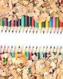 Красочный карандаш стоковые фотографии rf
