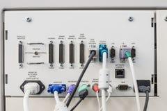 Красочный компьютер много тип порта Стоковые Изображения RF