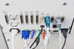 Красочный компьютер много тип порта Стоковые Изображения