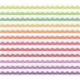 Красочный комплект границы шнурка Стоковое Фото