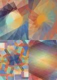 Красочный комплект предпосылки для дела Стоковое Изображение