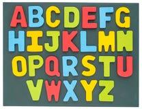 Красочный комплект собрания алфавита Стоковые Изображения RF