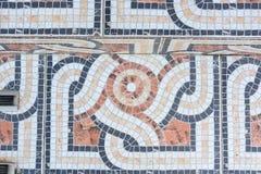 Красочный конец пола мозаики вверх Стоковое Изображение