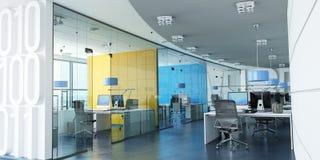 Красочный корпоративный офис стоковые фотографии rf
