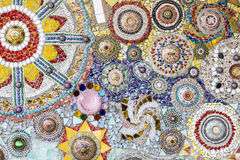 Красочный кристаллический висок Khao Kho Phasornkaew искусства предпосылки, Phe Стоковая Фотография RF